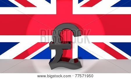 Pound Symbol In Spotlight