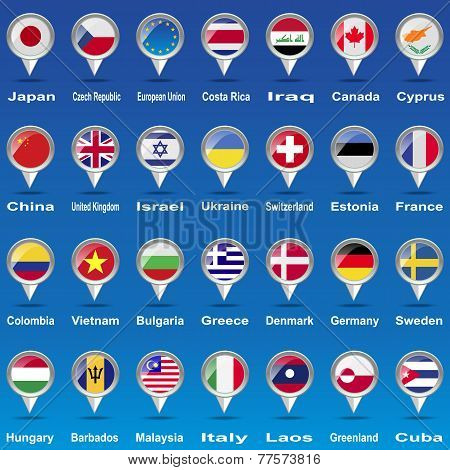 Flags  world.
