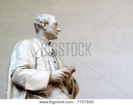 Statue von Sir Isaac Newton