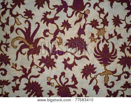 Old batik cloth