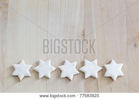 Cinnamon stars christmas cookies
