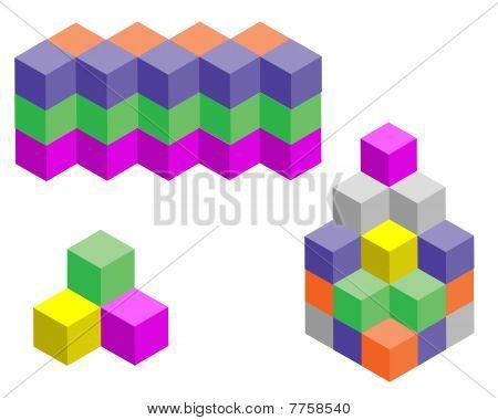 Multicolored  Figures