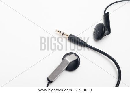 Audio Plug With Earphones