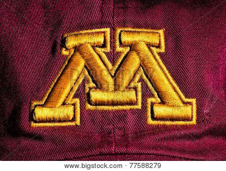 Minnesota Gosphers Ball Cap And Emblem