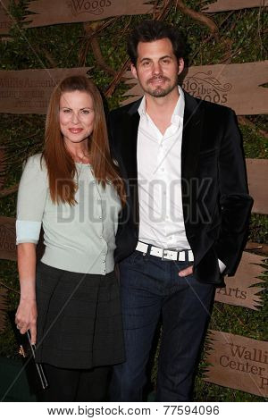 LOS ANGELES - DEC 3:  Julianne Morris, Kristoffer Polaha at the Opening night of Oregon Shakespeare Festival