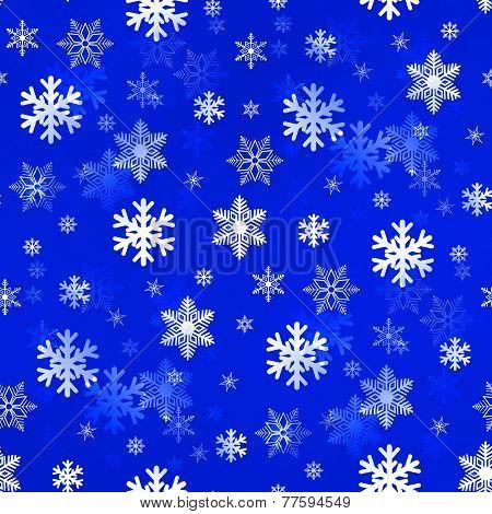 Light Blue Snowflakes
