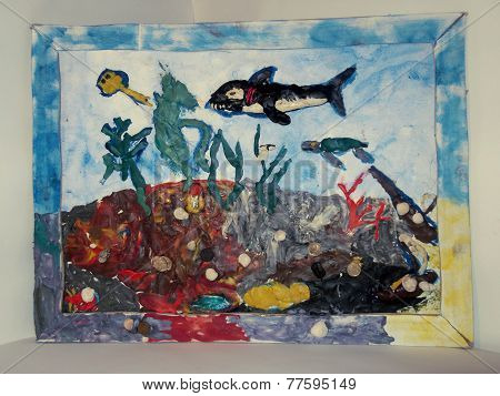 plasticine sea and its inhabitants