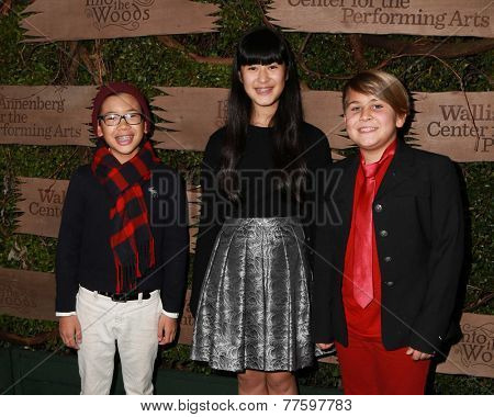 LOS ANGELES - DEC 3:  Sean Le, Berry Nakash, Sam Karpinski at the Opening night of Oregon Shakespeare Festival