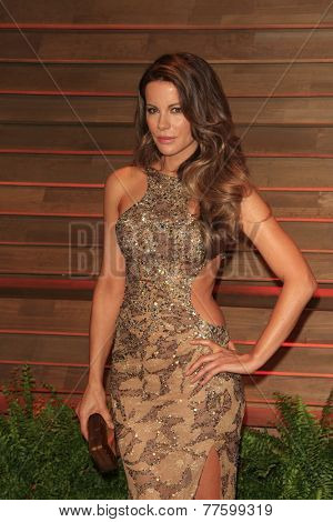 LOS ANGELES - MAR 2:  Kate Beckinsale at the 2014 Vanity Fair Oscar Party at the Sunset Boulevard on March 2, 2014 in West Hollywood, CA