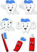 stock photo of molar tooth  - illustration of Tooth - JPG