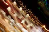 foto of gatlinburg  - City lights blurred by long exposure - JPG
