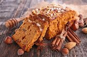 stock photo of ginger bread  - ginger bread - JPG