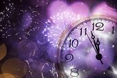 stock photo of midnight  - New Year - JPG