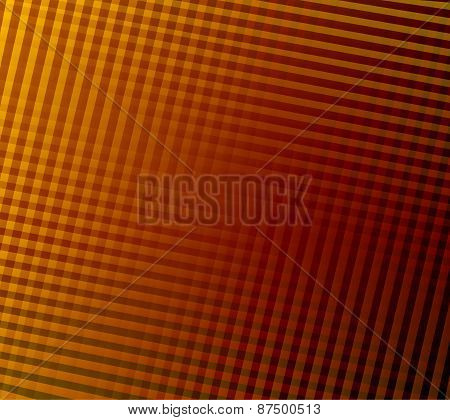 Orange plaid pattern
