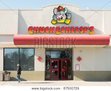 Chuck E. Cheese Entrance To Location