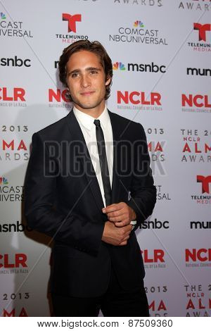 LOS ANGELES - SEP 27:  Diego Boneta at the 2013 ALMA Awards - Press Room at Pasadena Civic Auditorium on September 27, 2013 in Pasadena, CA