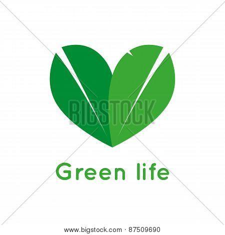 Vegetarian symbol.