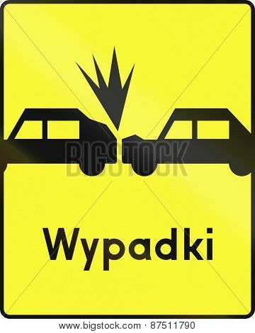 Hazard Of Rear-end Accident In Poland