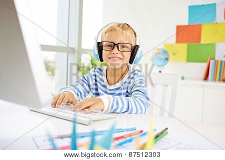 Playing on computer
