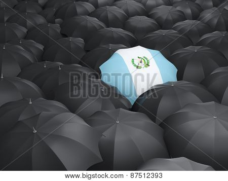 Umbrella With Flag Of Guatemala