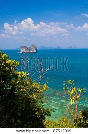 Exotic Getaway Idyllic Seascape