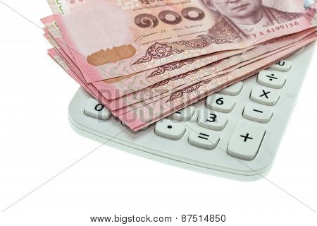 Thai Money In One Hundred Type Banknotes