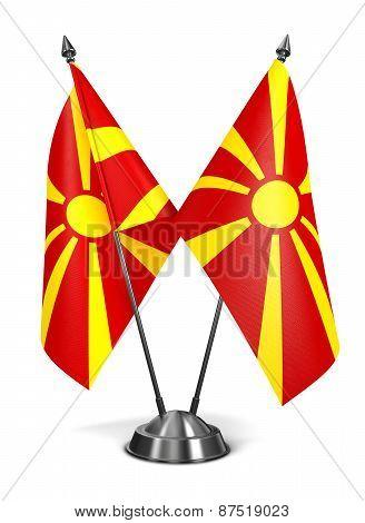 Macedonia - Miniature Flags.
