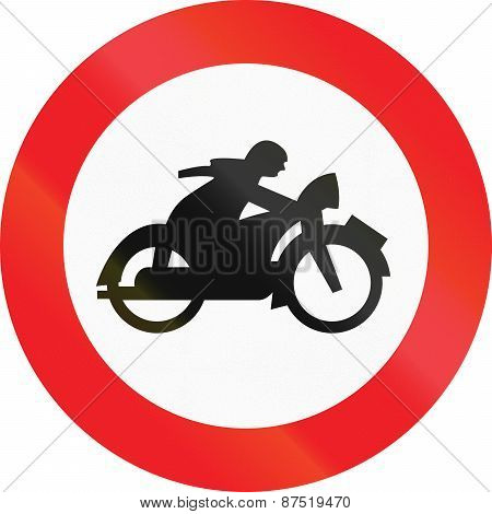 No Motorcycles In Austria