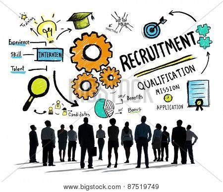 Diversity Business People Recruitment Profession Concept