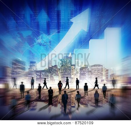Stock Market Stock Exchange Trading Forex Business Currency International Concept