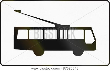 Trolley Buses In Poland