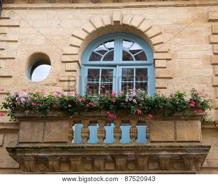 Balcony in France