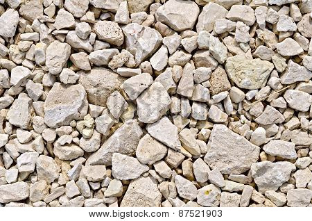 Crushed sandstone