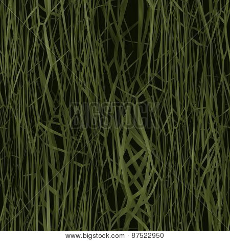 Grass Roof Seamless Generated Texture