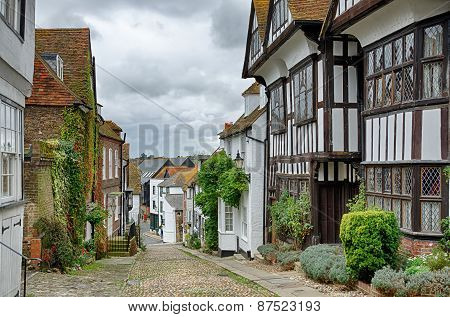 Mermaid Street, in the English town of Rye