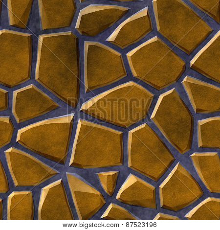 Paving Stones Seamless Generated Texture