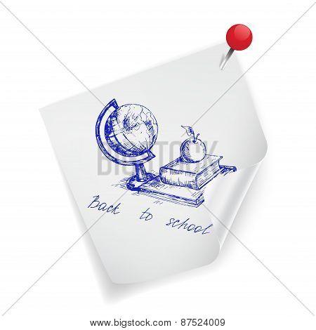 Vector sticker
