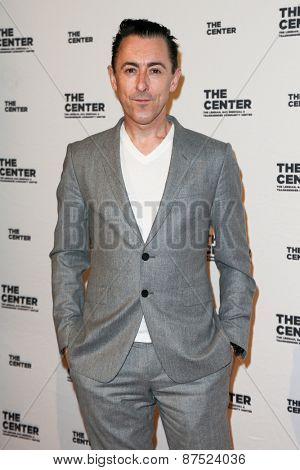 NEW YORK-APR 2: Actor Alan Cumming attends the 2015 Center Dinner at Cipriani Wall Street on April 2, 2015 in New York City.