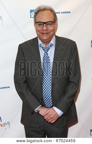 NEW YORK-MAR 28: Comedian Lewis Black attends the 2015 Garden Of Laughs Comedy Benefit at the Club Bar and Grill at Madison Square Garden on March 28, 2015 in New York City.