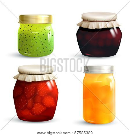 Jam Jar Set