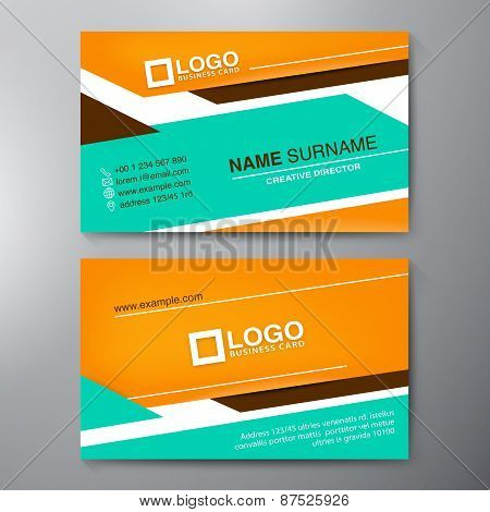 Modern Business Card Design Template