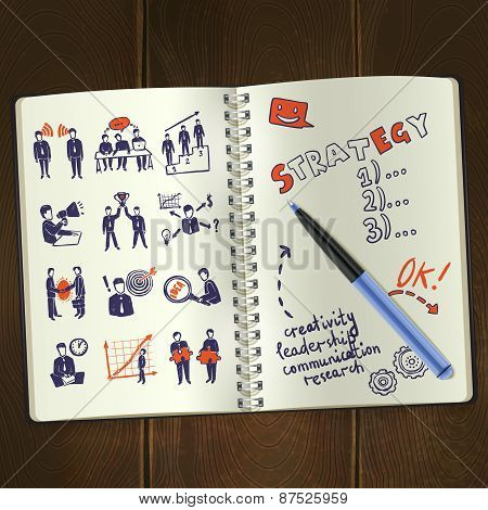 Meeting Sketch Notepad
