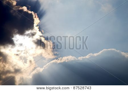 Milan   Lombardy Italy   And Sun Beam