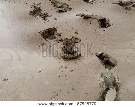 Black mud
