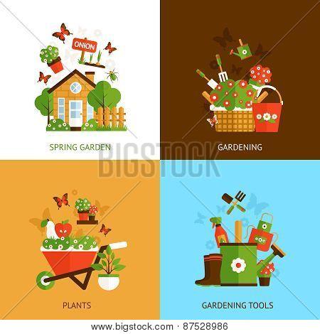 Gardening Design Concept