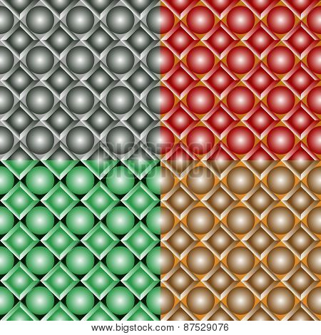 Seamless Patterns With Balls
