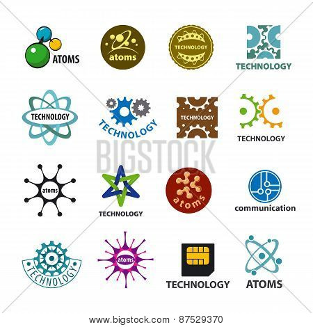 Biggest Collection Of Vector Icons Technology And Atoms