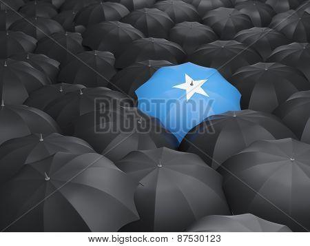 Umbrella With Flag Of Somalia