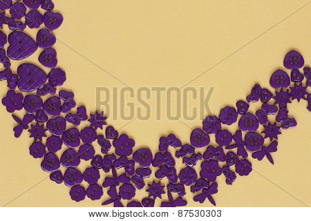 Purple Button Background
