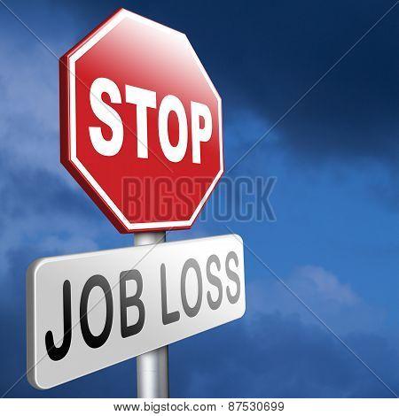 Stop Job Loss